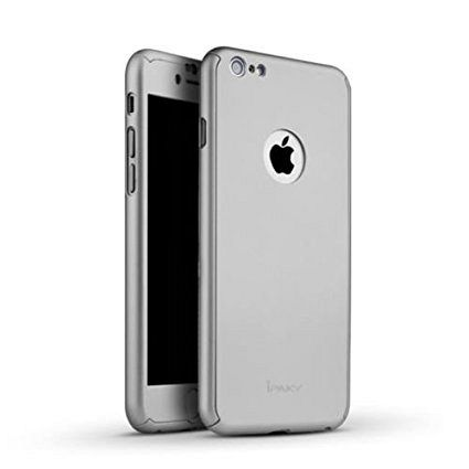 Maska 360° (srebrna) za Apple iPhone 5/5s/SE
