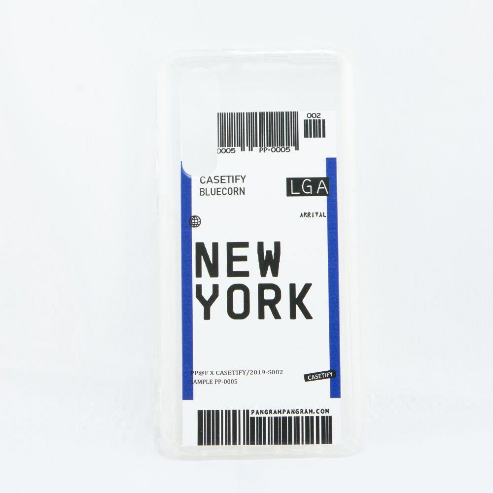 Maska TPU GATE (New York) za Huawei P Smart Z