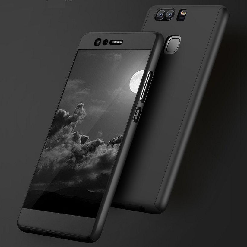 Ovitek 360° (Črn) za Huawei P10 Lite