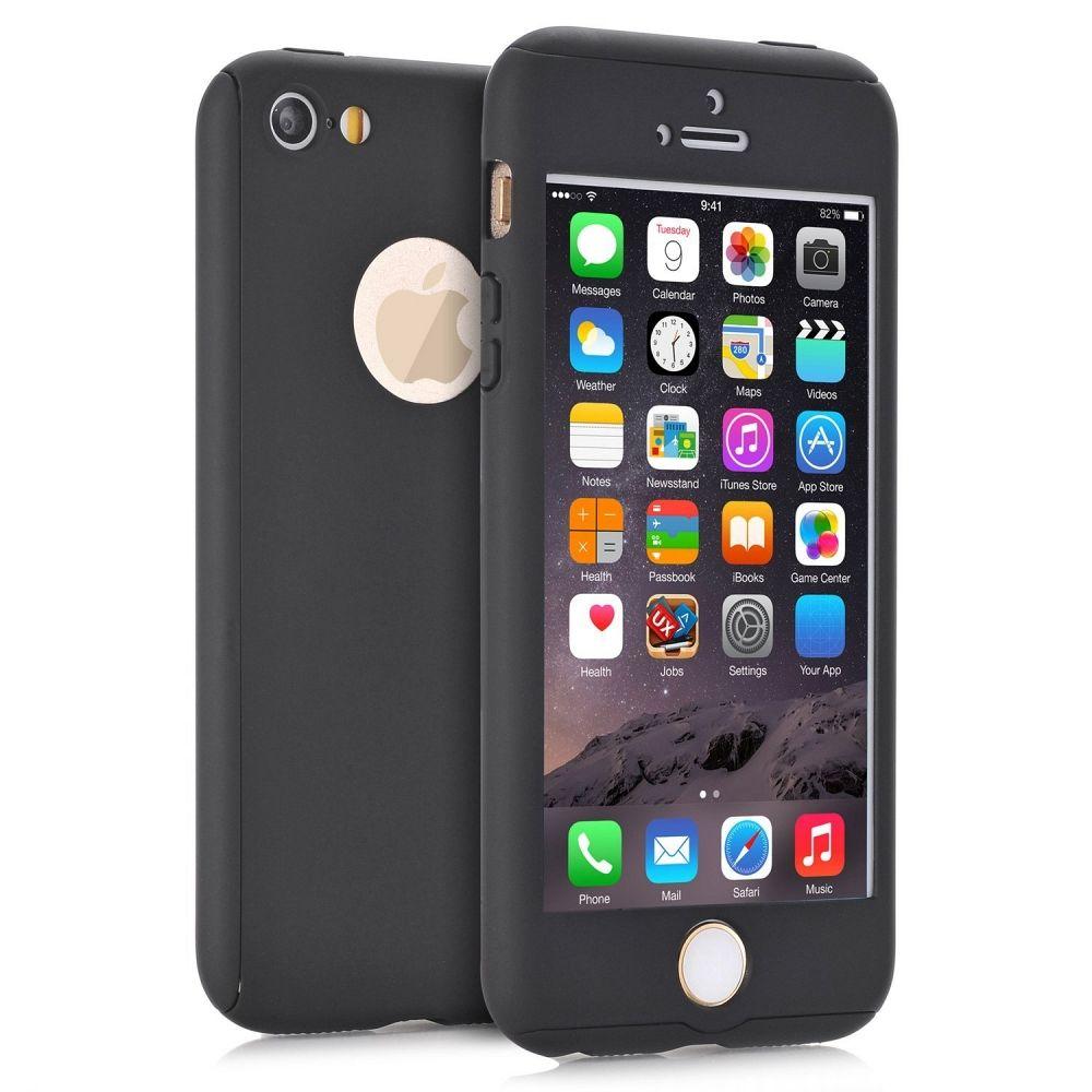 Ovitek 360° (črn) za Apple iPhone 5/5s/SE