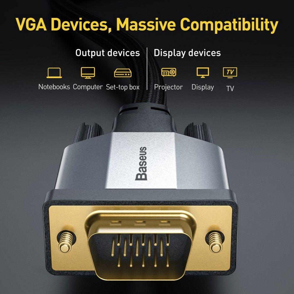 BASEUS VGA to VGA Video 1080P