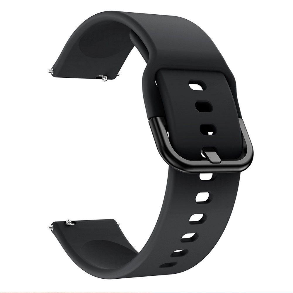 Silikonski pas 22 mm za Huawei Watch GT / Watch GT2 / Watch Active 46mm - crni