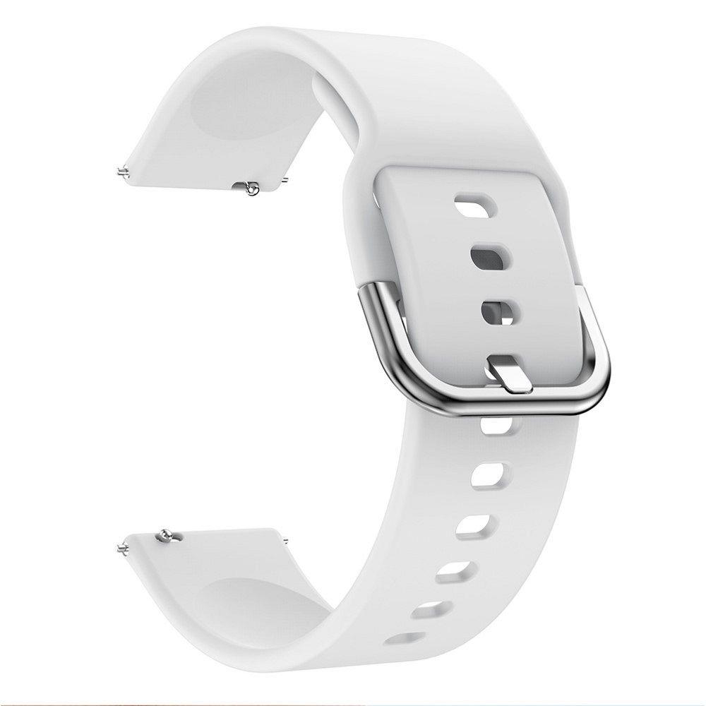 Silikonski remen 22 mm za Huawei Watch GT / Watch GT2 / Watch Active 46mm  - bijeli