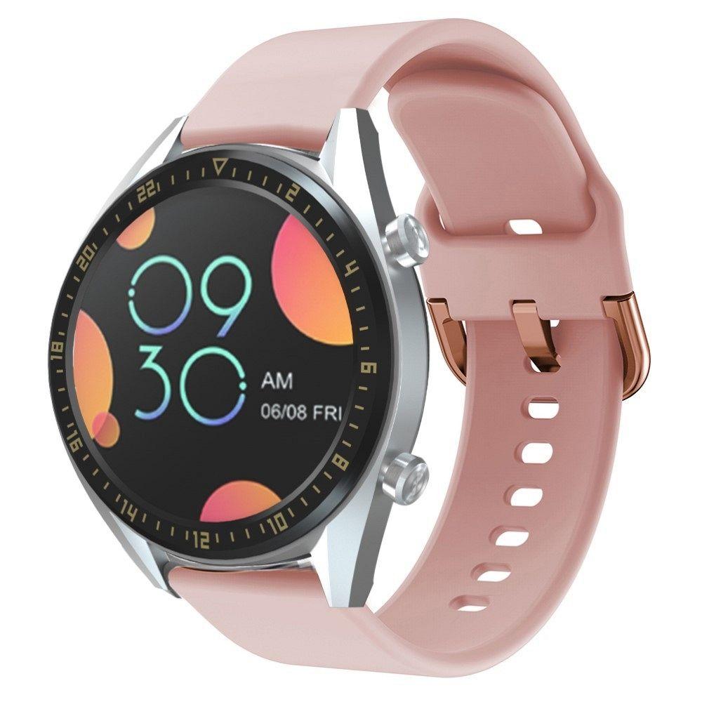 Silikonski remen za Huawei Watch GT / Watch GT2 / Watch Active 46mm - (pink)