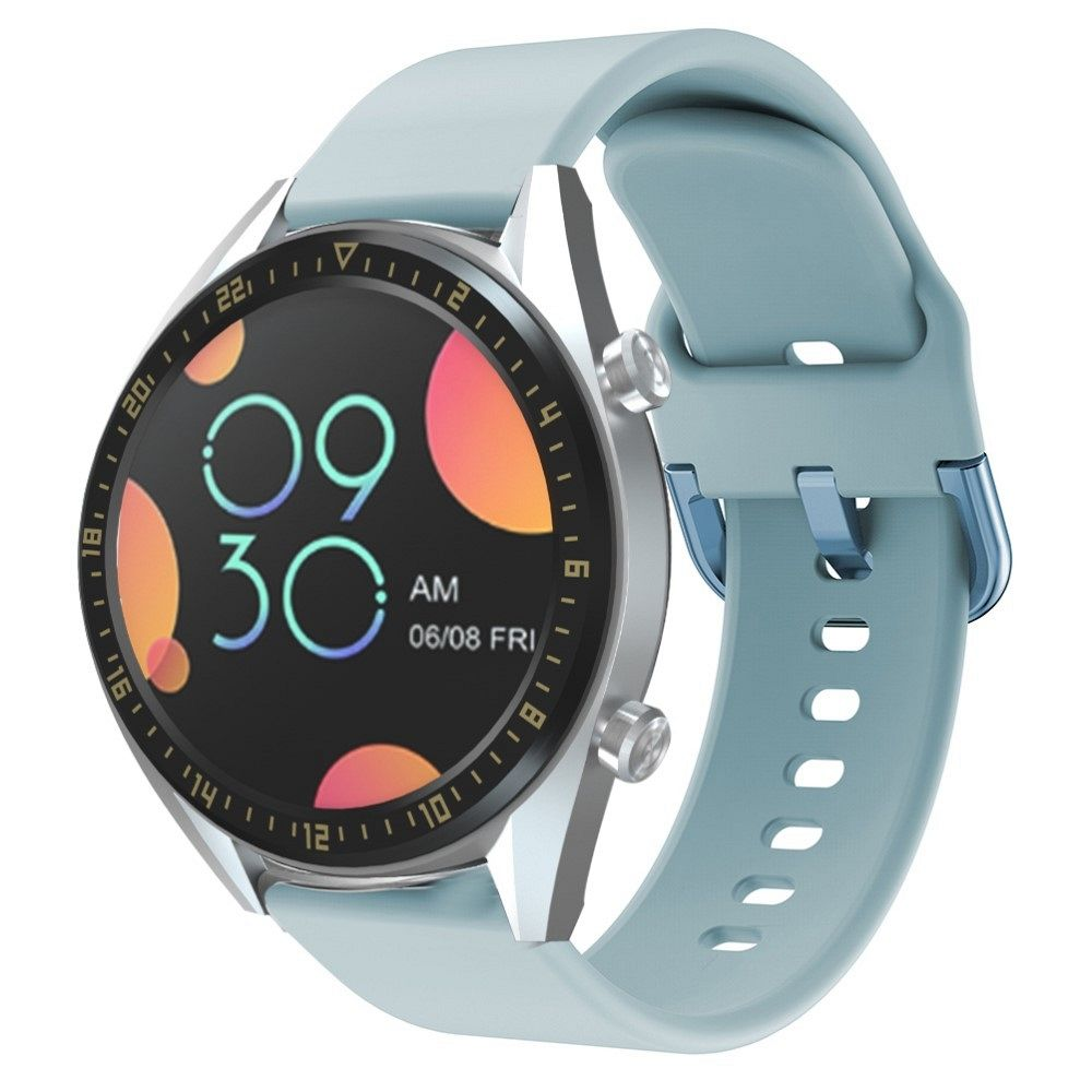 Silikonski remen za Huawei Watch GT / Watch GT2 / Watch Active 46mm-(Baby Blue)