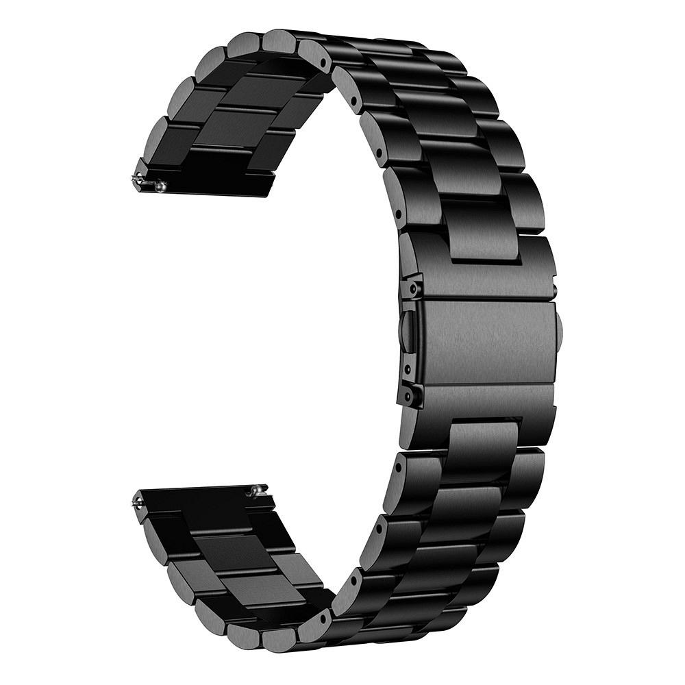 Metalni remen 22mm za Samsung Galaxy Watch 46mm - crni