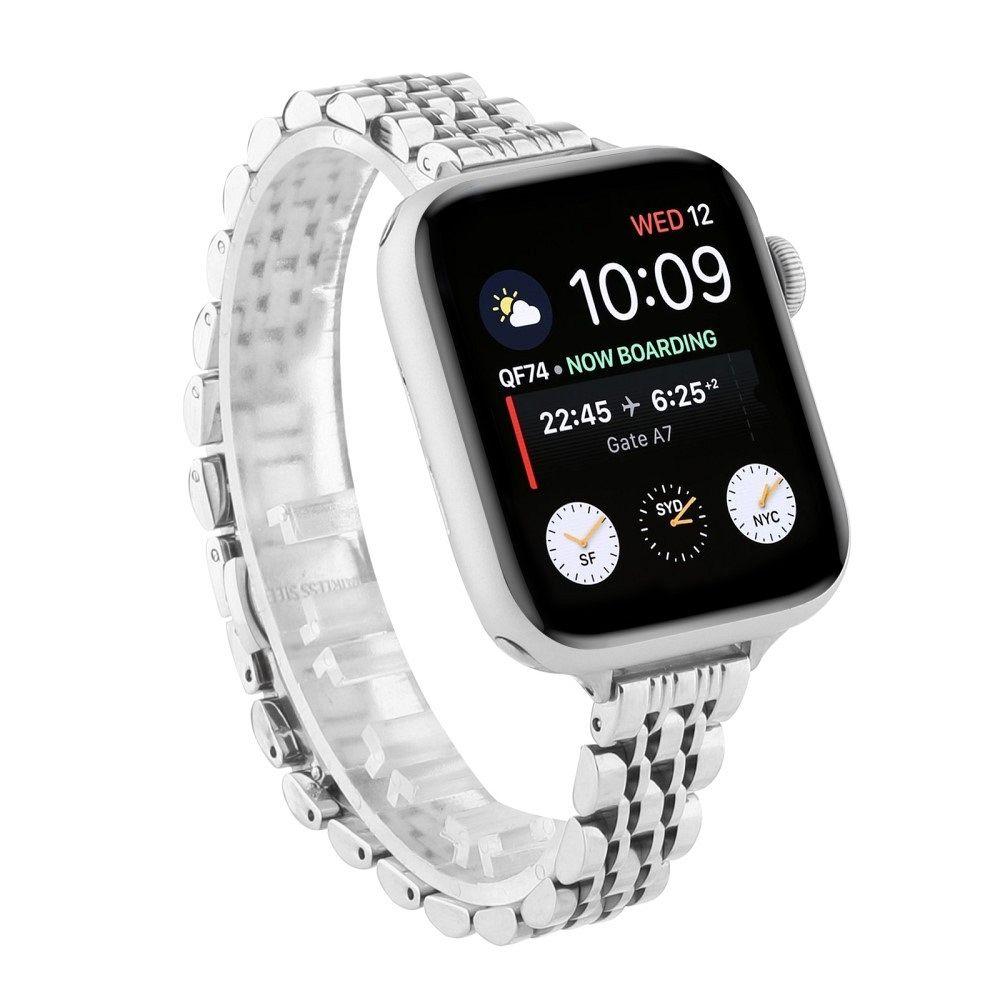 Remen metal (silver) za Apple Watch Serien 6/SE/5/4 40mm / Series 3/2/1 Watch 38mm