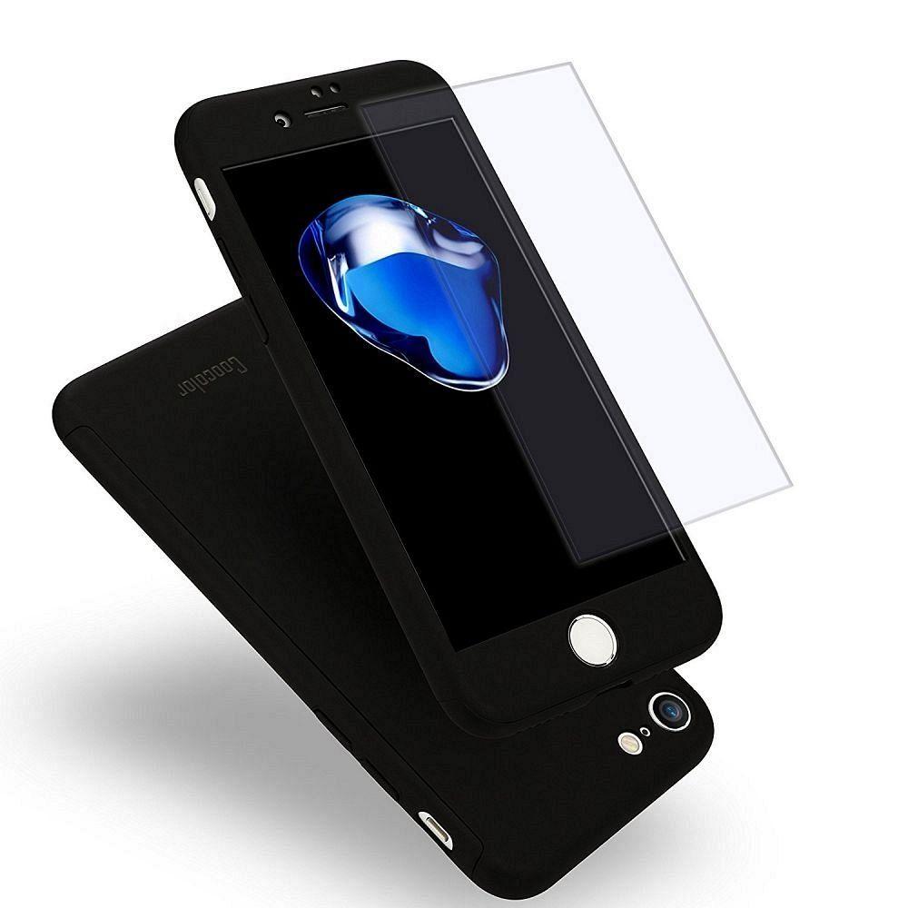 Maska 360° (crna) za Apple iPhone 6/6s