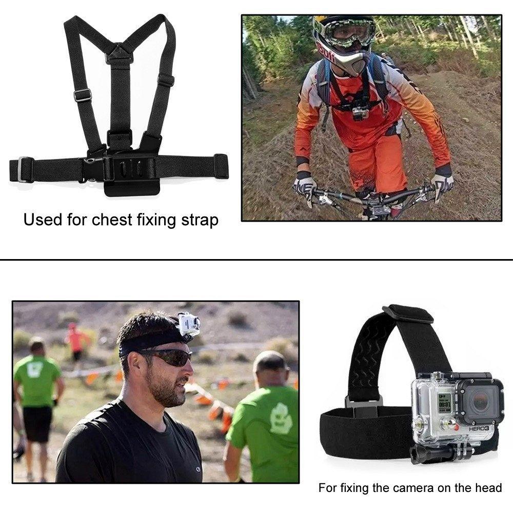 GoPro set 33v1 (recording accessories)