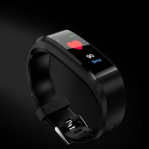 Smart Band T01 (fekete)