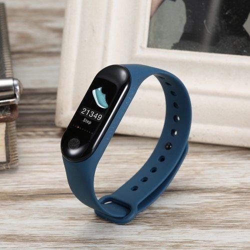 Smart bracelet M3 Plus blue