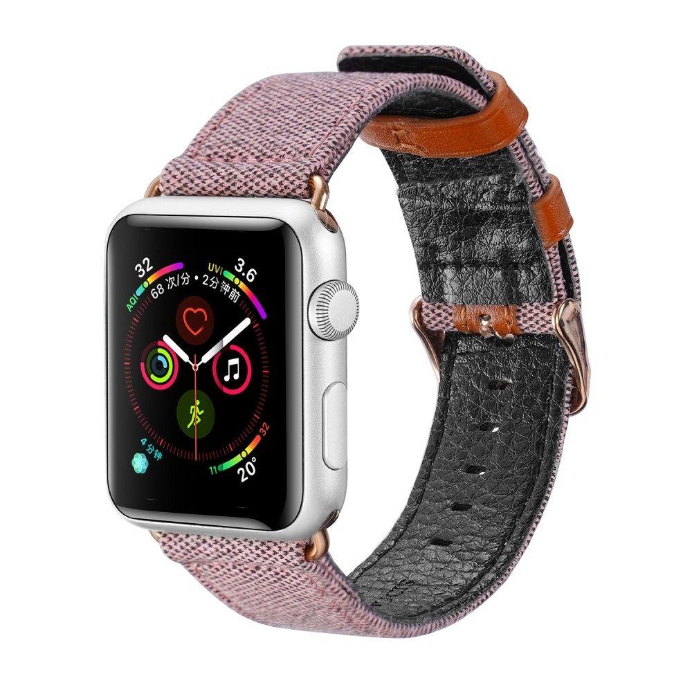 Belt DUX DUCIS (roza) za Apple Watch 4/5/6/SE 44mm / Apple Watch Series 1/2/3 42mm