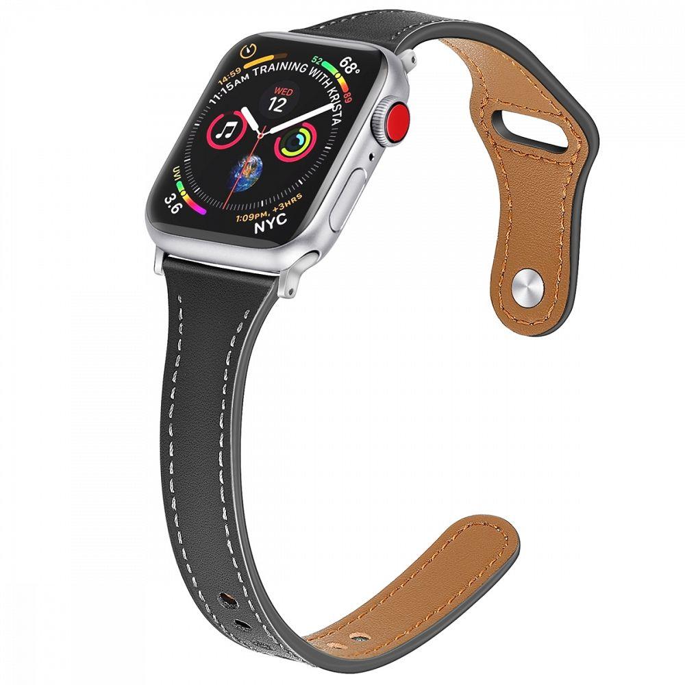 Remen (black) za Apple Watch Serien 6/SE/5/4 40mm / Series 3/2/1 Watch 38mm