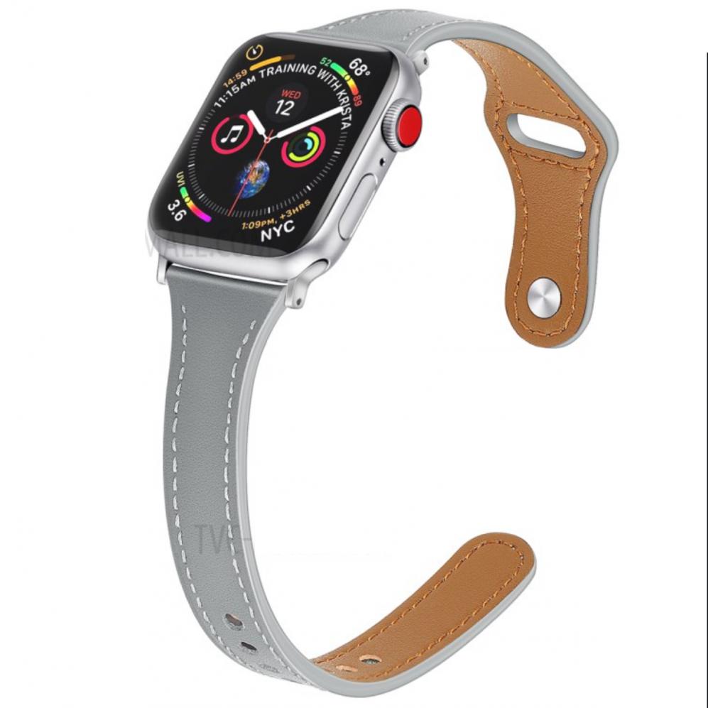 Remen (grey) za Apple Watch Serien 6/SE/5/4 40mm / Series 3/2/1 Watch 38mm