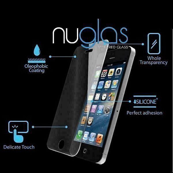 Temperirano zaštitno staklo Nuglas 3D (crn) za Samsung Galaxy Note 9