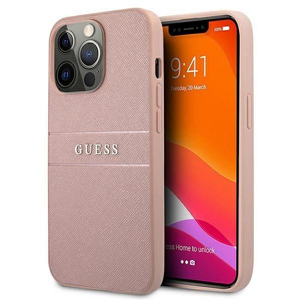 Originalna maska Guess (pink) za  iPhone 13 Pro Max