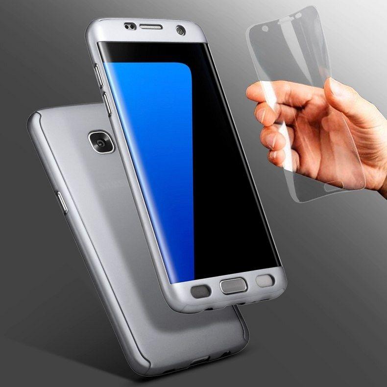 Maska 360° (siva) za Galaxy S8