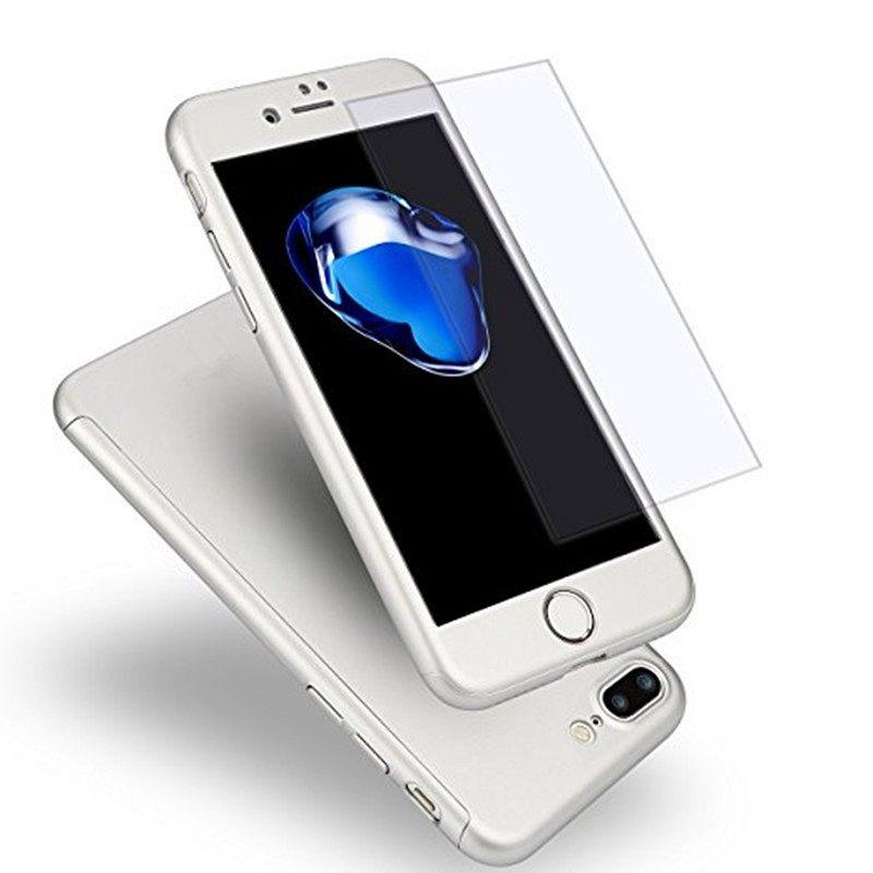 Ovitek 360° (srebrn) za Apple iPhone 7