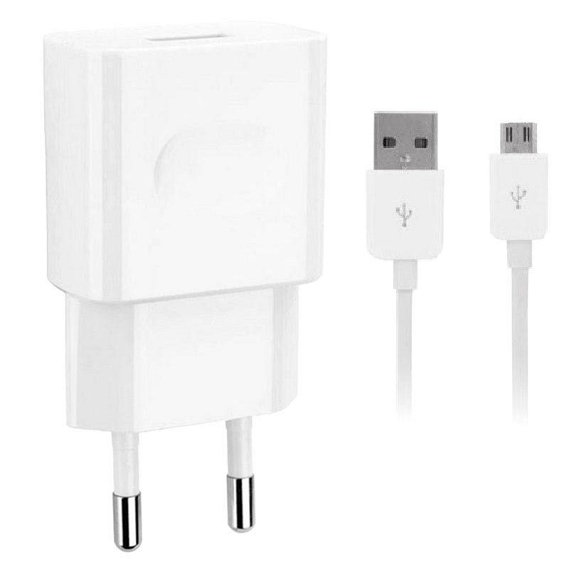 Stenski adapter (white) + kabal micro USB