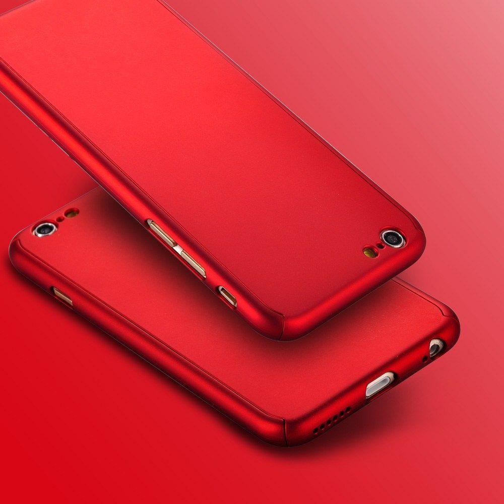 Ovitek 360° (Rdeč) za Apple iPhone 6/6s