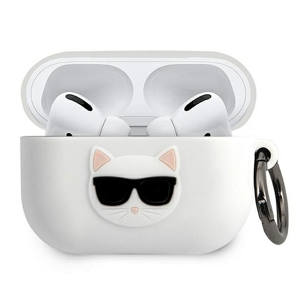 Maska KARL LAGRFELD (Silicone Choupette) za AirPods Pro