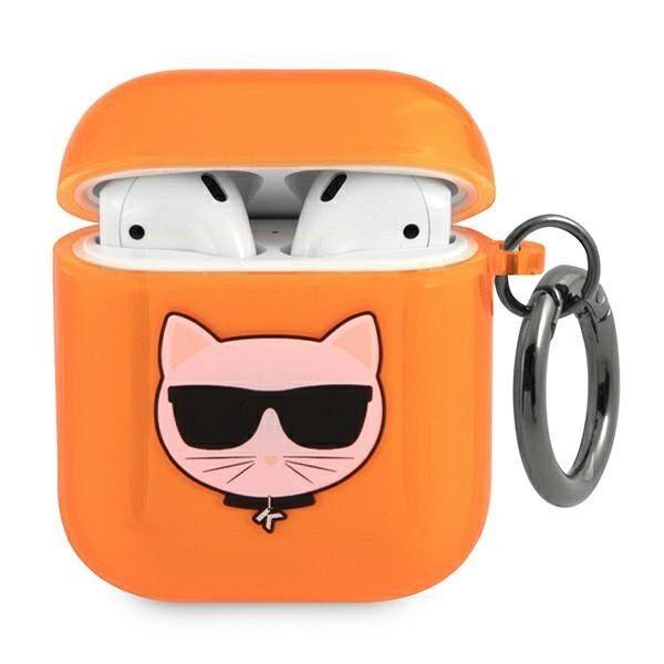 Maska KARL LAGRFELD (orange) za AirPods