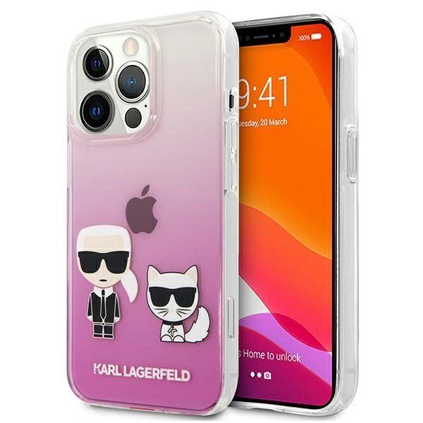 iPhone 13 Pro / 13  Karl Lagerfeld (pink)  tok