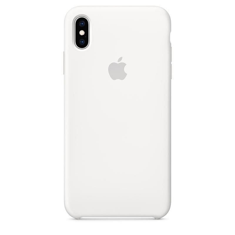 iPhone X/XS TPU Silicone (white) tok