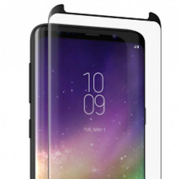 Kaljeno zaščitno steklo Nuglas 3D (črn) za Samsung Galaxy Note 9