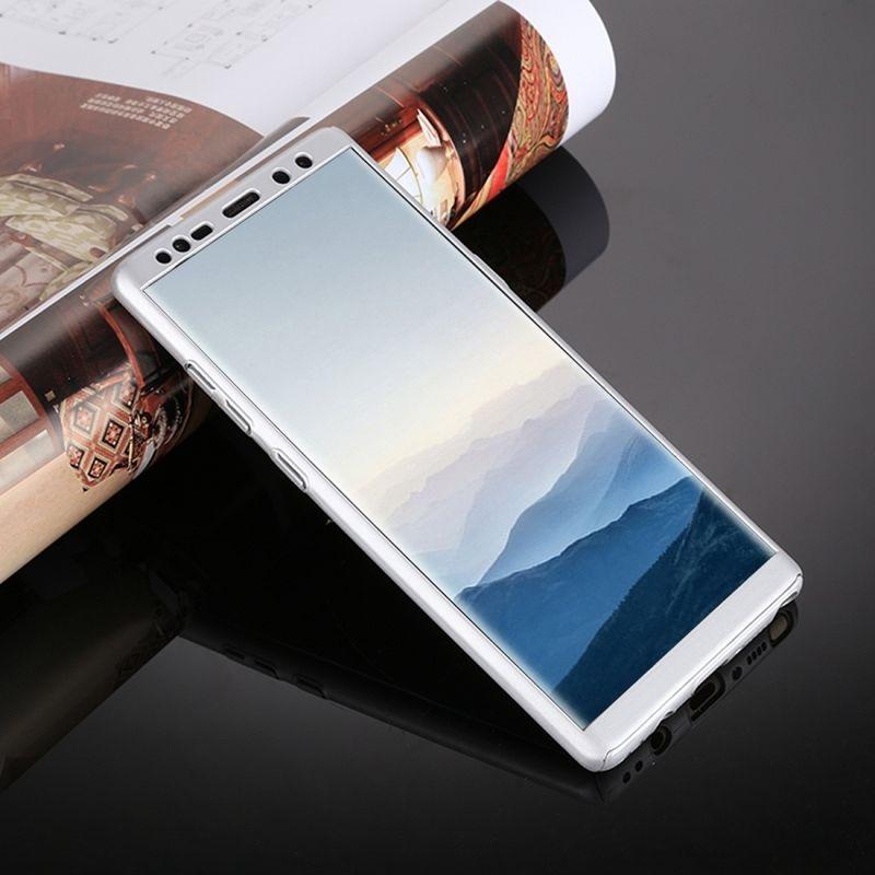 Ovitek 360° (srebrn) za Samsung Galaxy Note 8