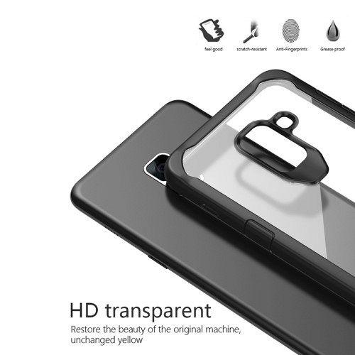 Ovitek Shock (siv) za Samsung Galaxy A8 2018