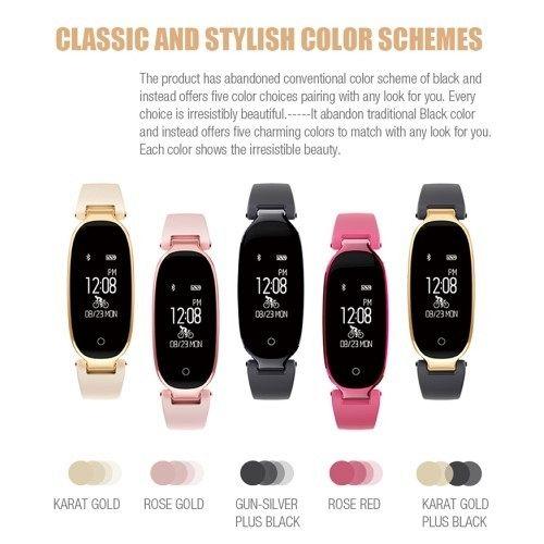 Pametna zapestnica Luxury Plus (Roza)