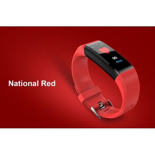 Pametna zapestnica T01 (rdeča)