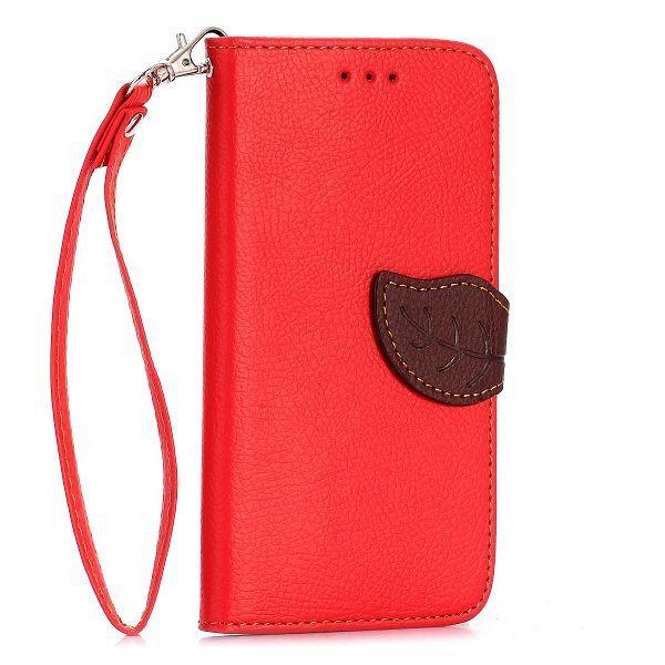 Preklopni ovitek (rdeč) za Sony Xperia E4