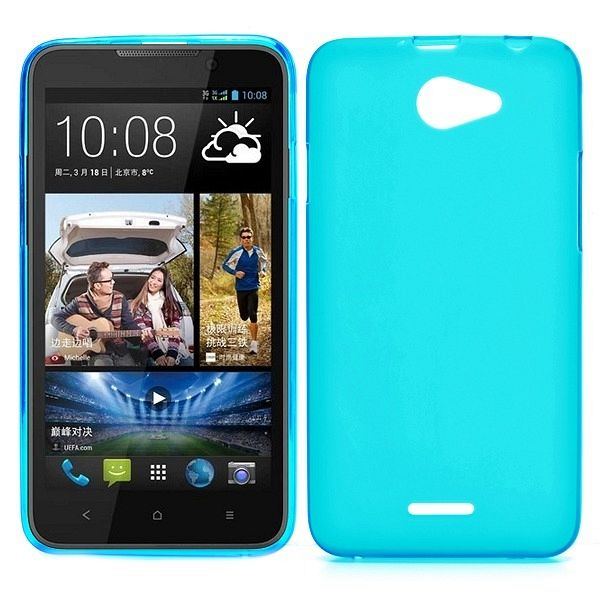 Ovitek (svetlo moder) za HTC Desire 516