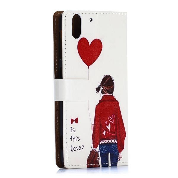 Preklopni ovitek (Girl) za HTC Desire Eye