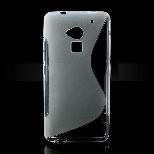 Maska TPU (transparentan) za HTC One Max