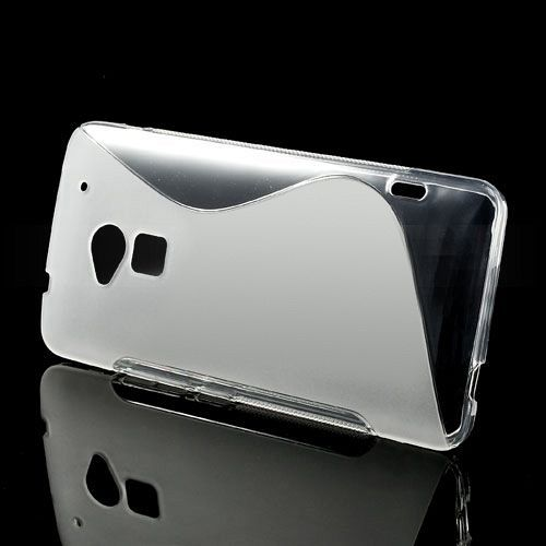 Ovitek TPU (prozoren) za HTC One Max