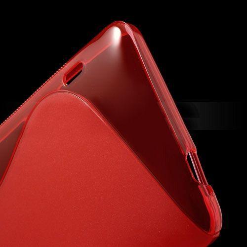 Maska TPU (crvena) za HTC One Max