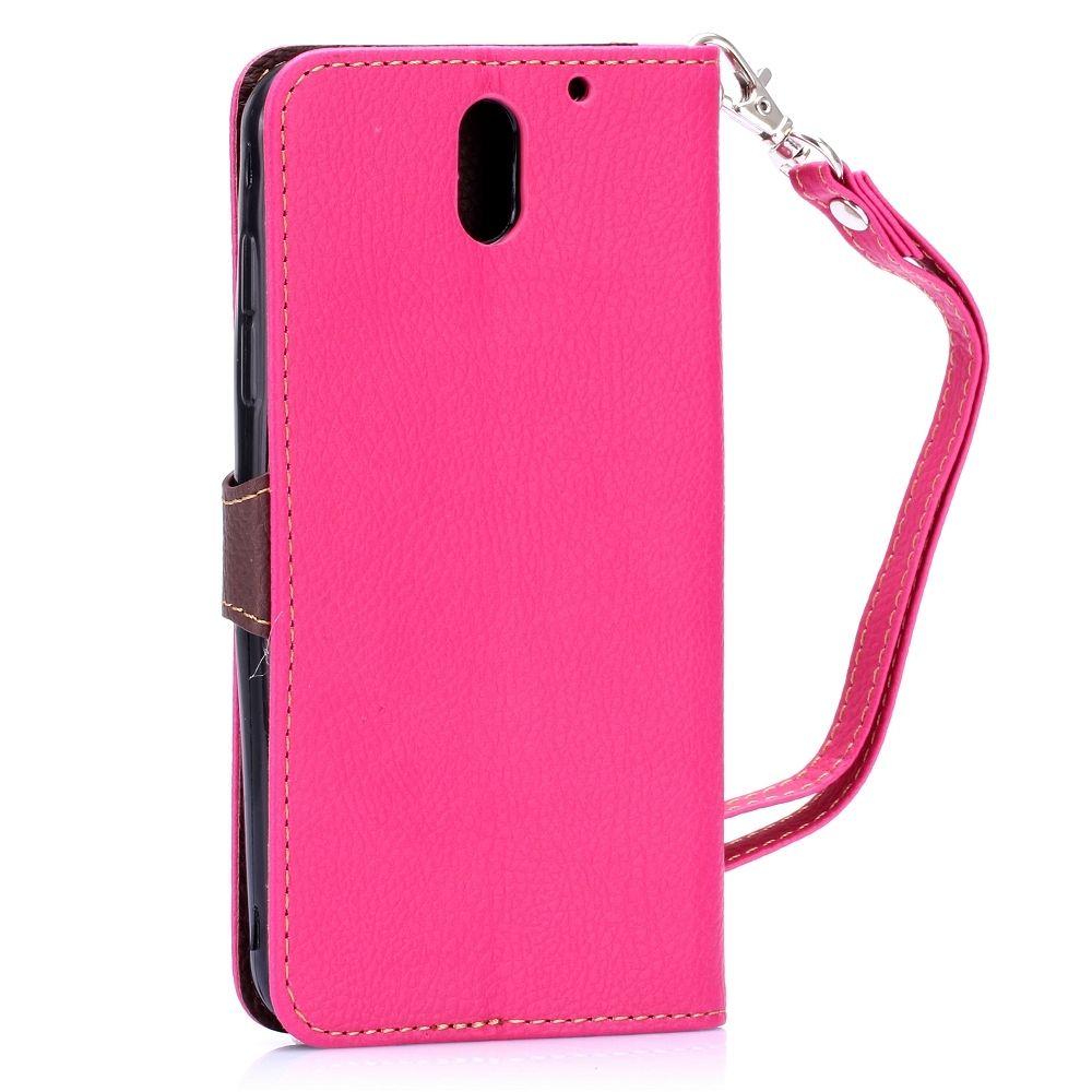 Preklopna maska (roza) za HTC Desire 610
