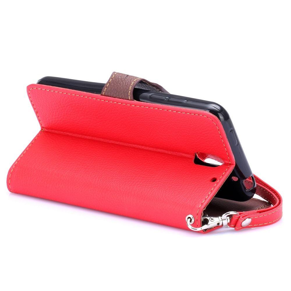 Preklopni ovitek (Rdeč) za HTC Desire 610