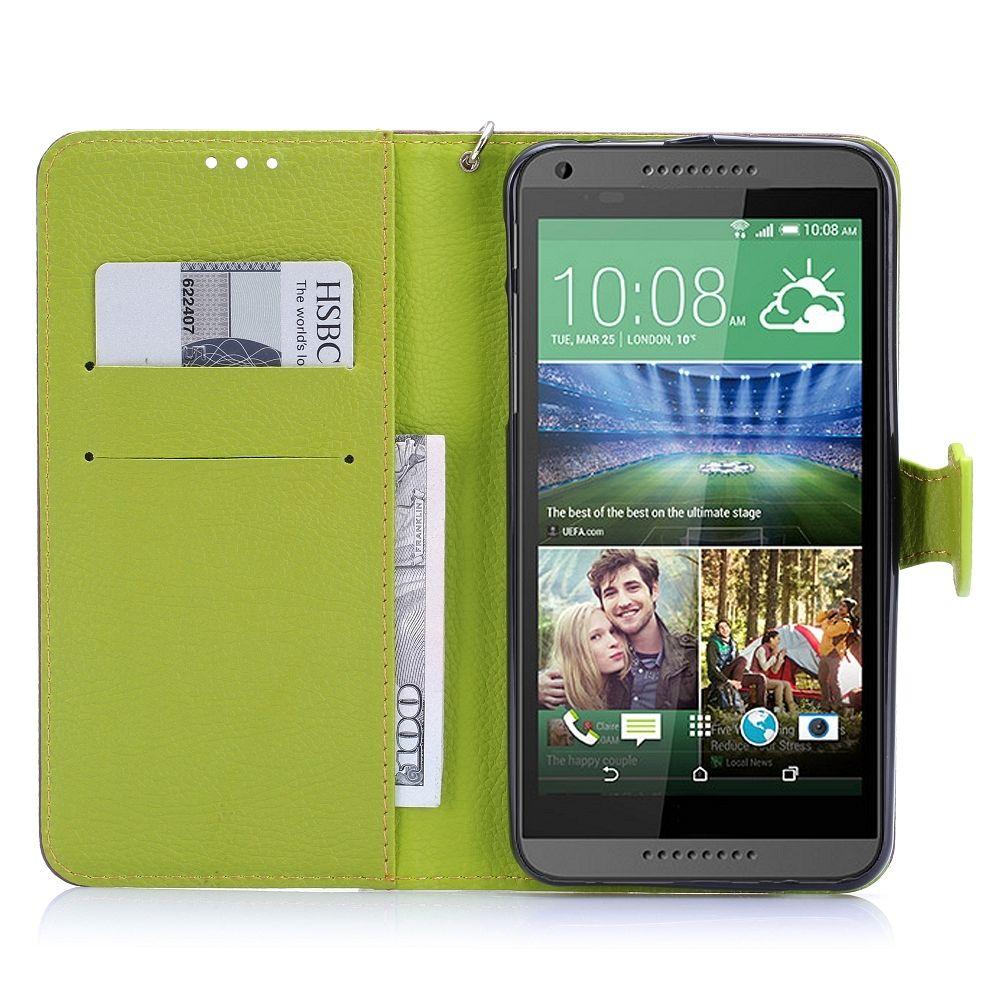 Preklopni ovitek (Rjav) za HTC Desire 816