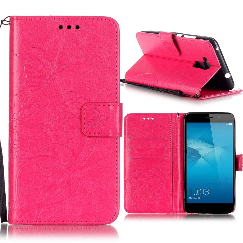 Preklopni ovitek (roza) za Huawei Honor 7 Lite/5c