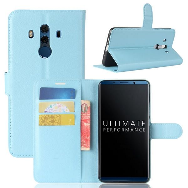 Preklopni ovitek (moder) za Huawei Mate 10 Pro