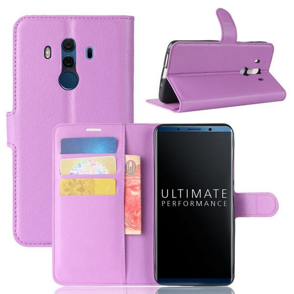 Preklopni ovitek (vijoličen) za Huawei Mate 10 Pro