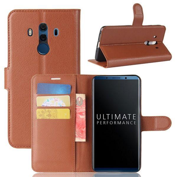 Preklopni ovitek (rjav) za Huawei Mate 10 Pro