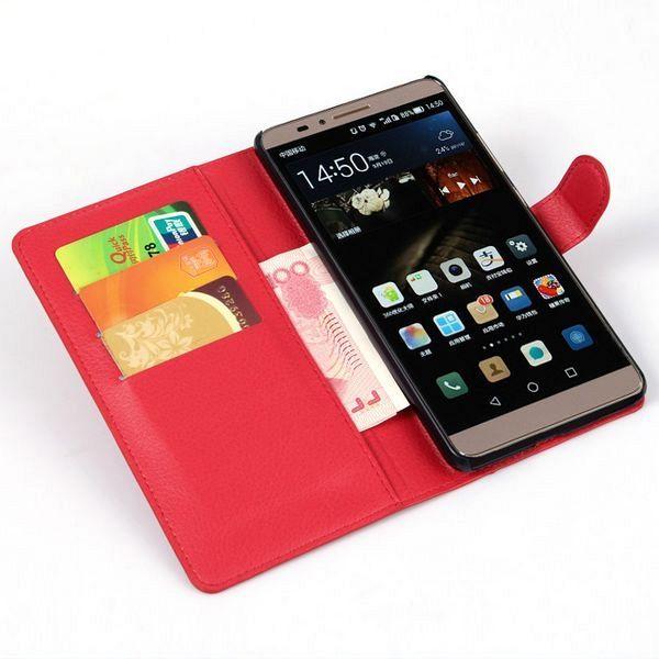 Preklopna maska (crvena) za Huawei Mate 7