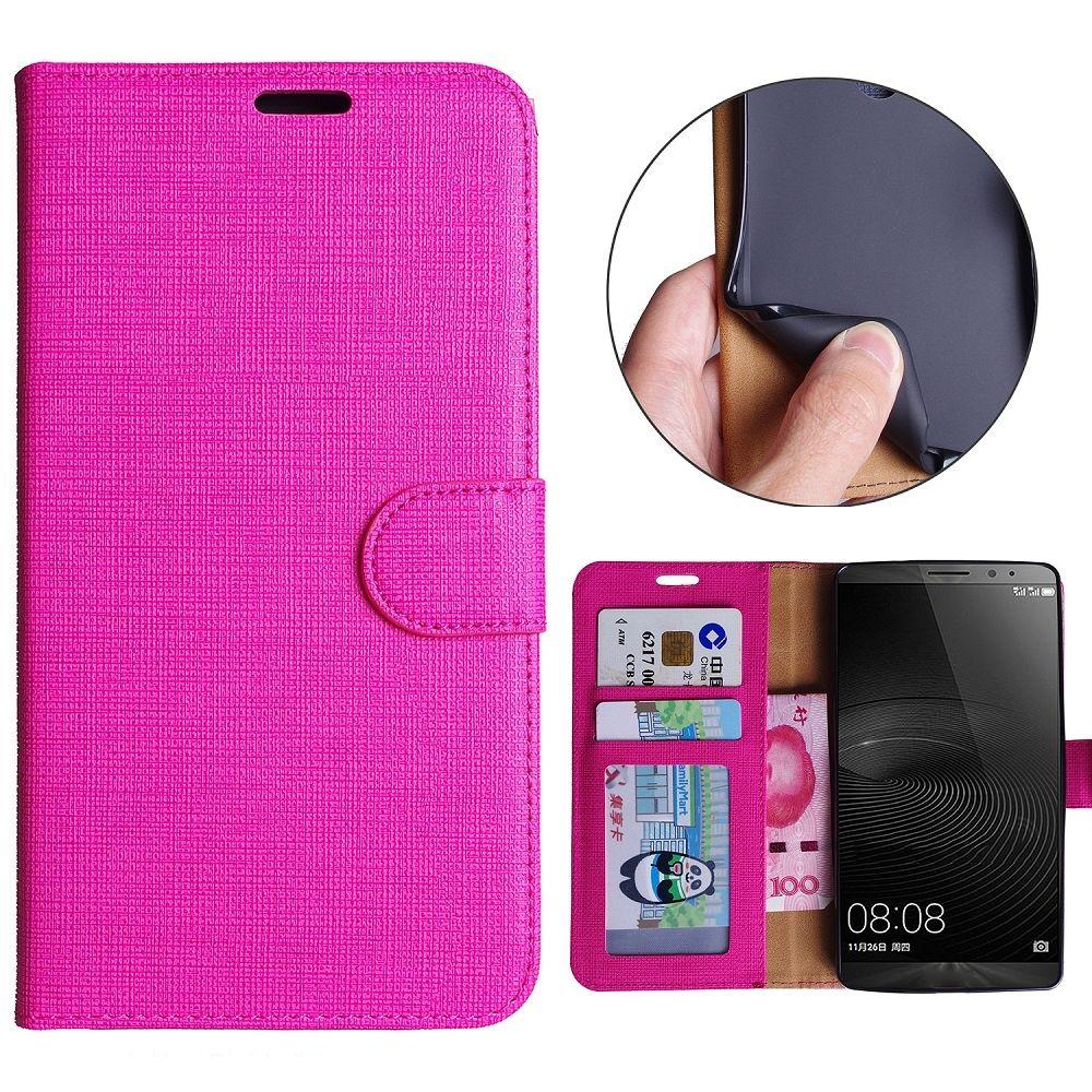 Preklopna maska (ružičasta) za Huawei Mate 8