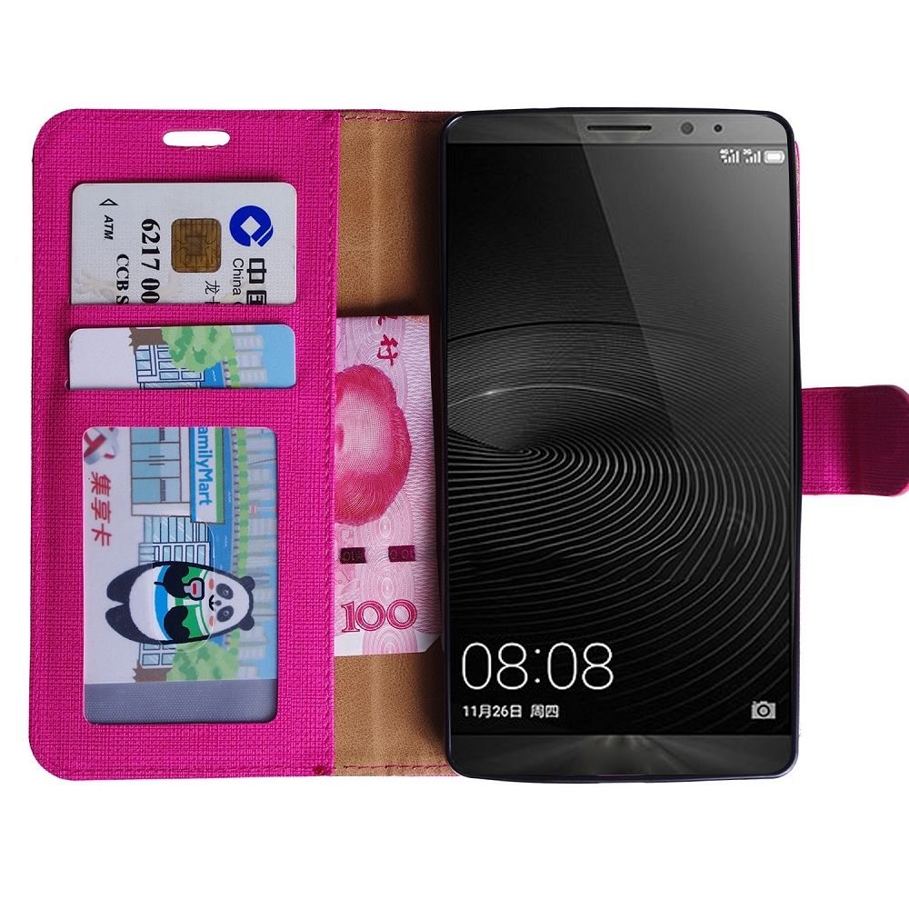 Preklopni ovitek (roza) za Huawei Mate 8