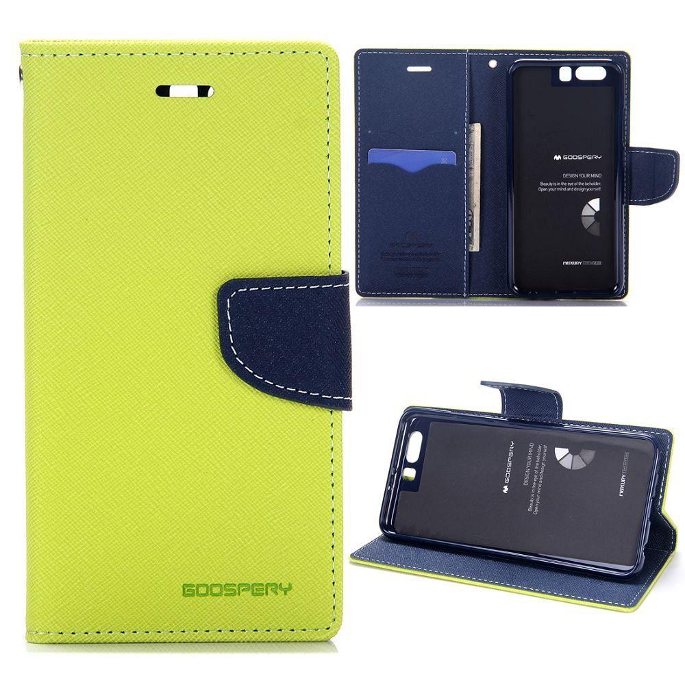 Preklopni ovitek Goospery (zelen) za Huawei P10 Plus